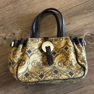Donald J. Pliner Bags - Donald J Pliner Baroque Jacquard Tapestry Bag
